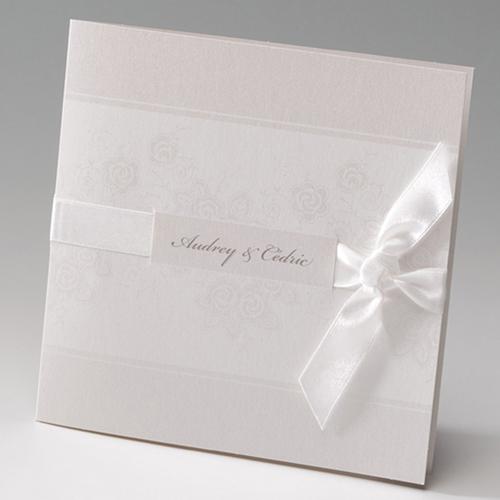 Hochzeitseinladungen traditionell - Edel 50842