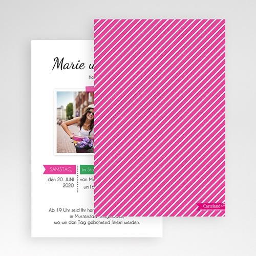 Hochzeitskarten Querformat - Poppig 50846 preview