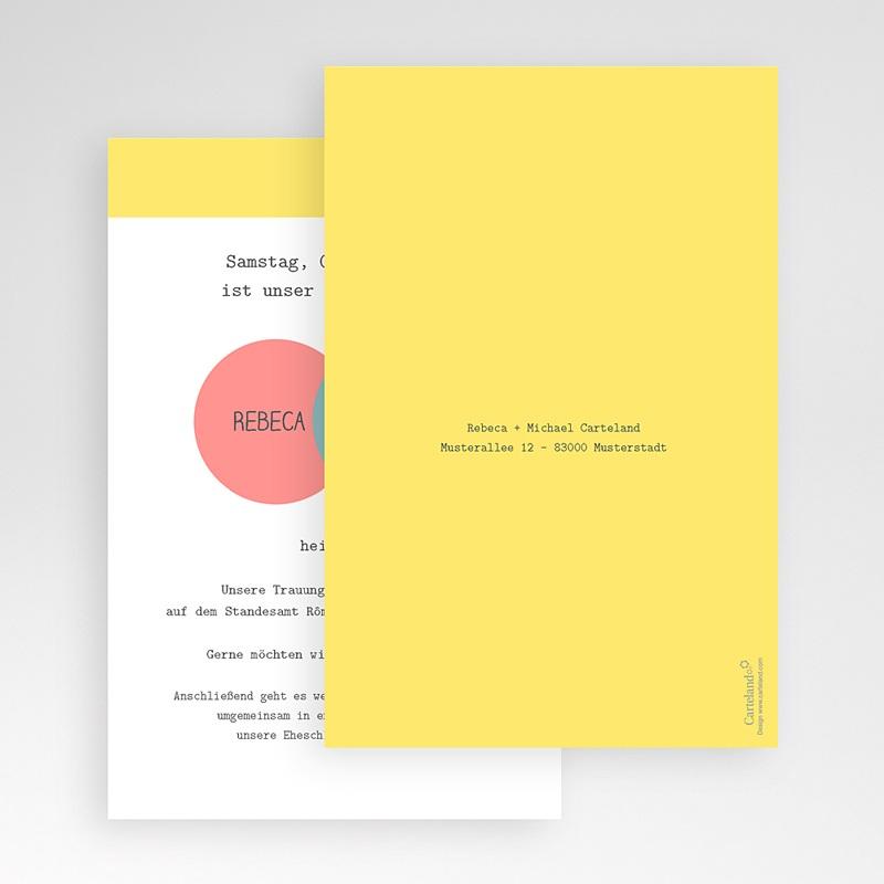 Hochzeitskarten Querformat - Pastell 50848 thumb