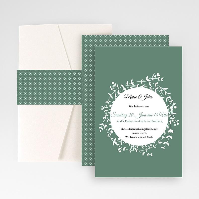 Hochzeitskarten Querformat - Schmuck 50851 thumb