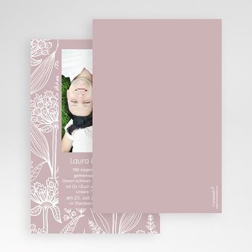Hochzeitskarten Querformat - Blütenzauber 50858 preview