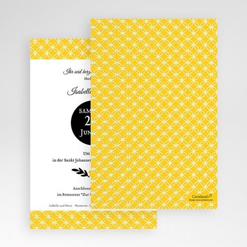 Hochzeitskarten Querformat - Gelbton 50862 preview