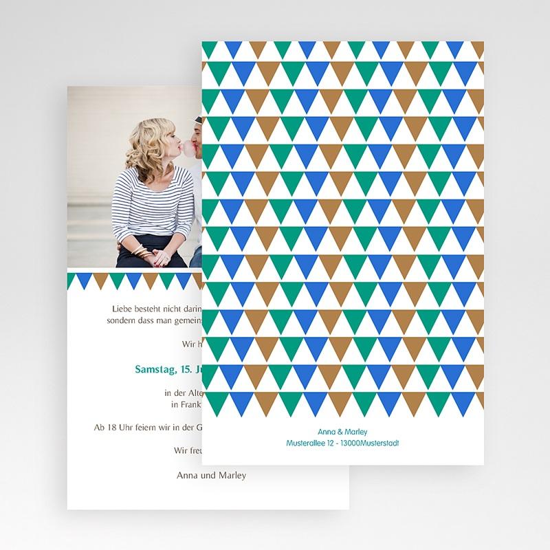 Hochzeitskarten Querformat - Kacheln 50868 thumb