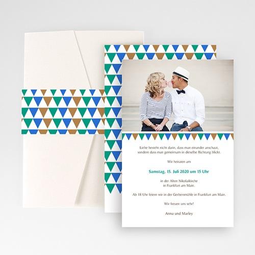 Hochzeitskarten Querformat - Kacheln 50869 thumb