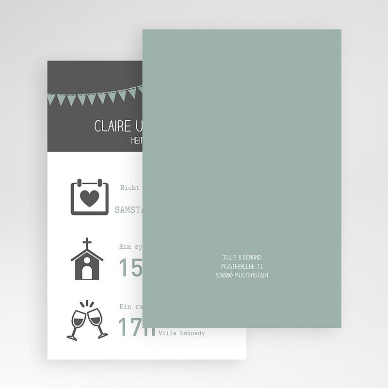 Hochzeitskarten Querformat Mathilde
