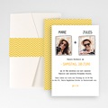 Hochzeitskarten Querformat - Herzlich 50895 test