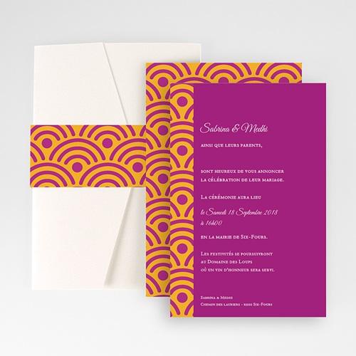 Hochzeitskarten Querformat - Marrakech 50899