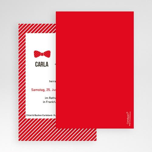 Hochzeitskarten Querformat Lieblich