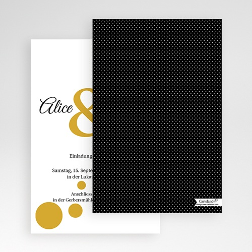 Hochzeitskarten Querformat - Bunt gemischt 50906 preview