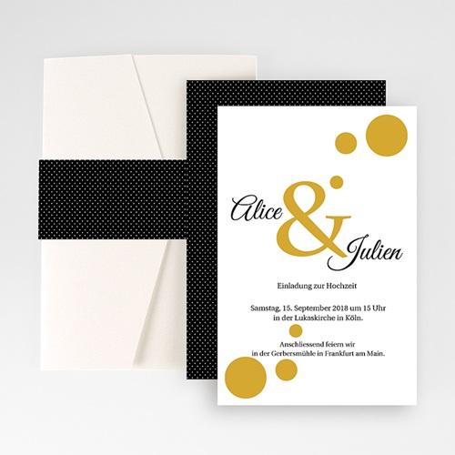 Hochzeitskarten Querformat - Bunt gemischt 50907 preview