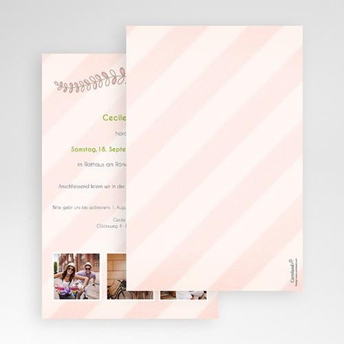 Hochzeitskarten Querformat - Anzug 50914 preview