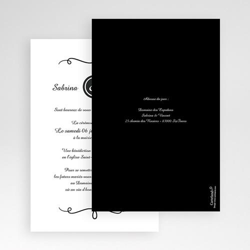 Hochzeitskarten Querformat - Fein 50916 preview