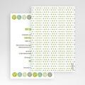 Hochzeitskarten Querformat - Green Wedding 50924 test