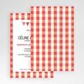 Hochzeitskarten Querformat - Ambiente Vichy 50926 test