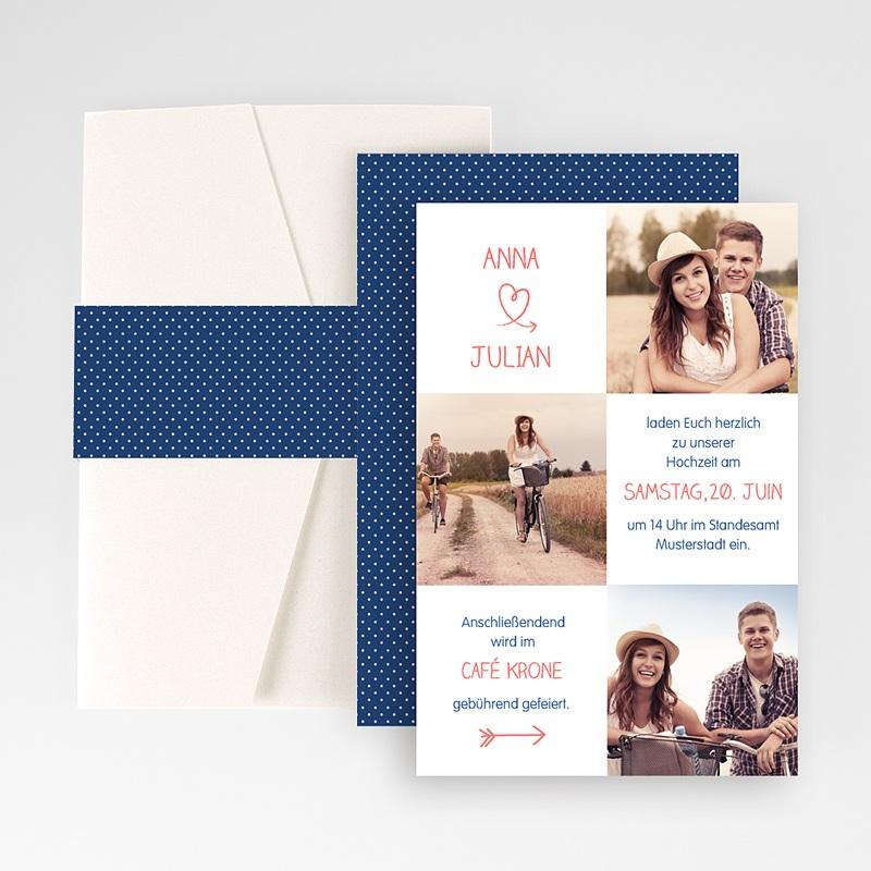 Hochzeitskarten Querformat - Lustig 50929 thumb