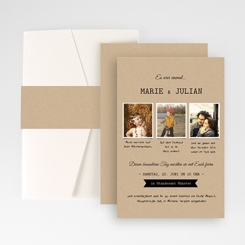 Hochzeitskarten Querformat - Forever 50931 test