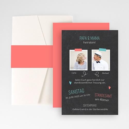 Hochzeitskarten Querformat - Meine Eltern 50945