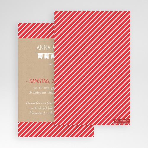 Hochzeitskarten Querformat - Linienförmig 50946 preview