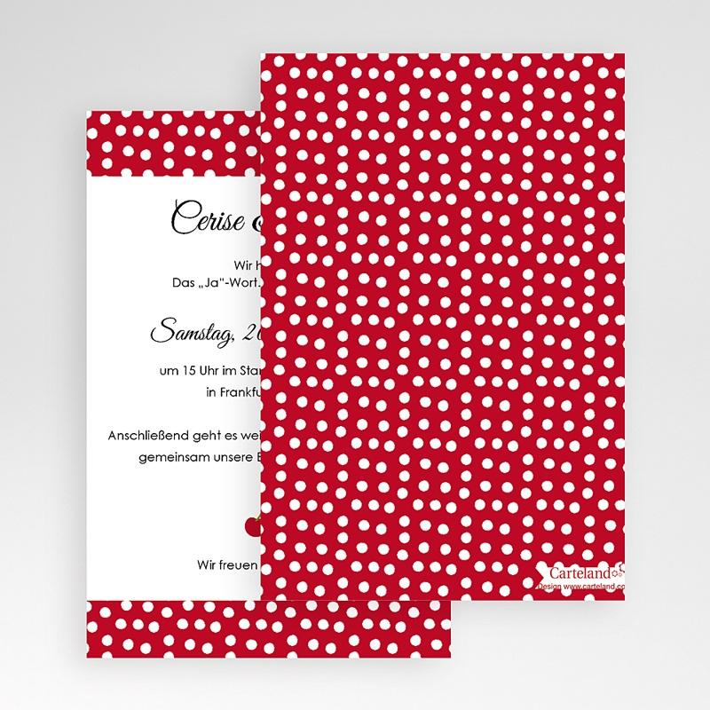 Hochzeitskarten Querformat - Kirschernte 50948 thumb