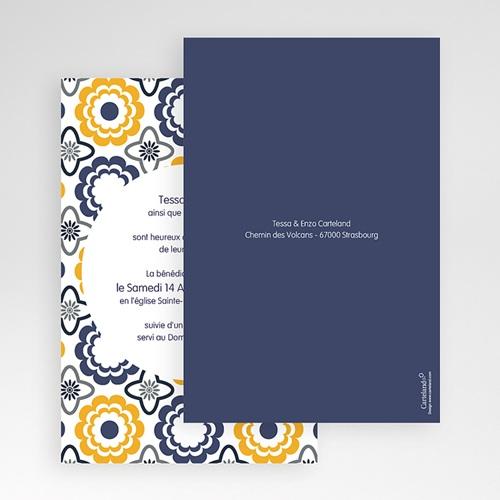 Hochzeitskarten Querformat - Azulejo 50954 preview