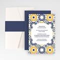 Hochzeitskarten Querformat - Azulejo 50955 thumb
