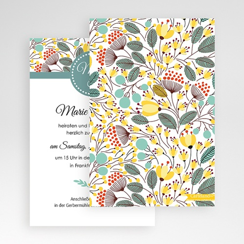 Hochzeitskarten Querformat - Tropez 50958 preview