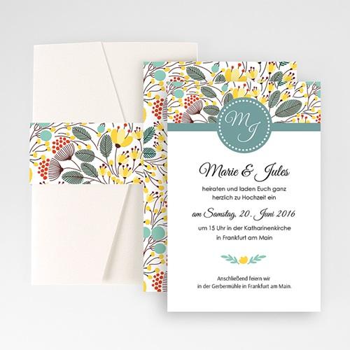 Hochzeitskarten Querformat - Tropez 50959