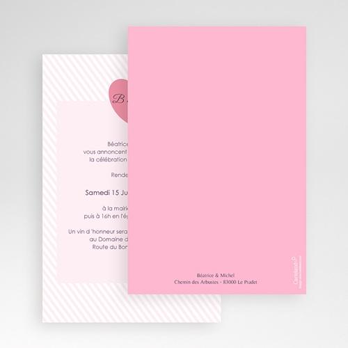 Hochzeitskarten Querformat - Bonbonfarben 50962 preview