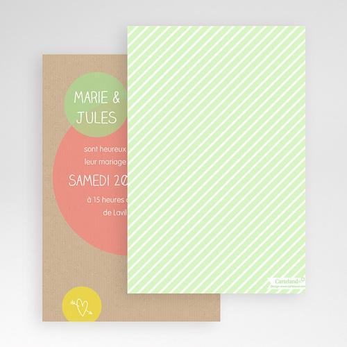 Hochzeitskarten Querformat - Runde Fom 50978 test
