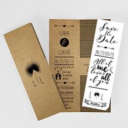 Karten Hochzeit Love is Life