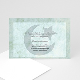 Trauerkarte muslimisch - 1