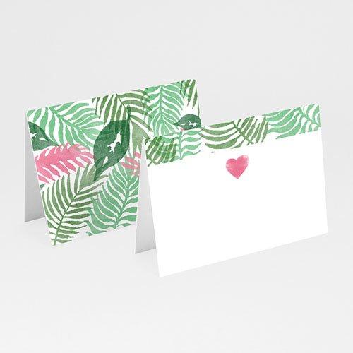 Tischkarten Hochzeit - Floral 51065