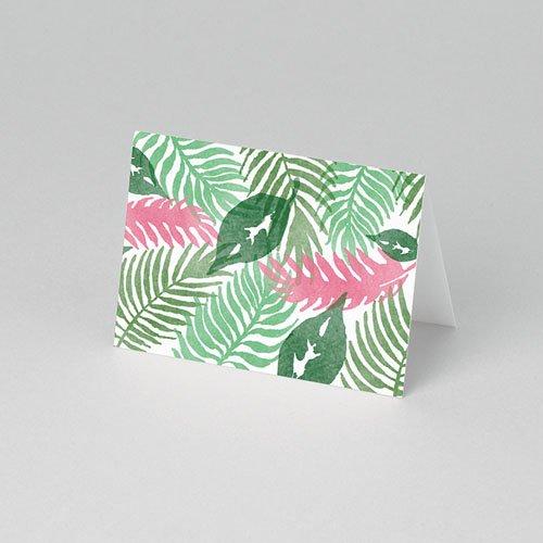 Tischkarten Hochzeit - Floral 51066 preview