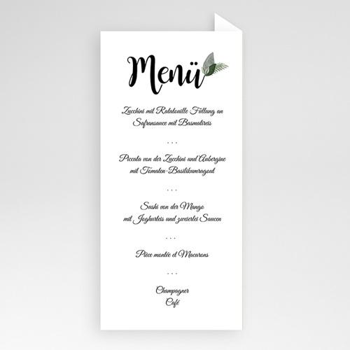Menükarten Hochzeit - Elegant Vintage 51107 preview