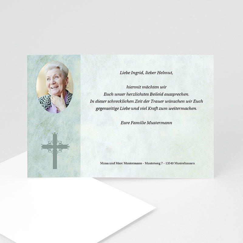 Christlich Dankeskarten Trauer Wie Wolken