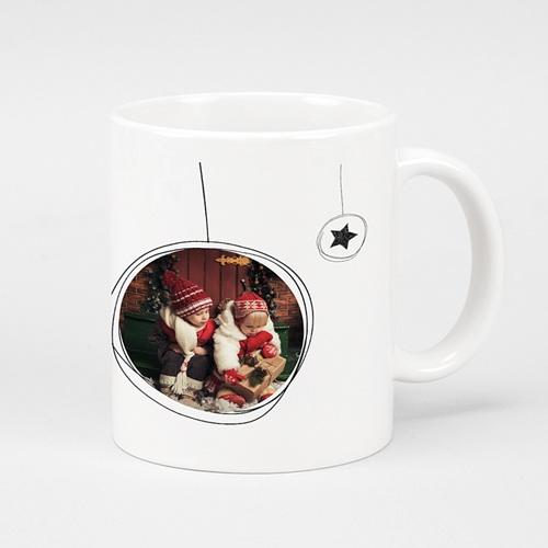Fototassen - Weihnachtskugel & Sterne 51148