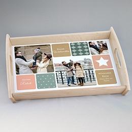 Foto-Tablett  - Wollig weich - 0