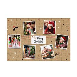 Fotopuzzle - Holz Puzzlespass zu Weihnachten
