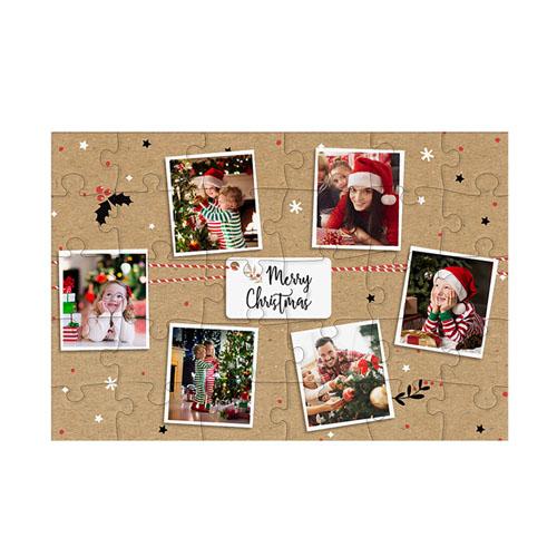 Fotopuzzle - Holz - Puzzlespass zu Weihnachten 51267
