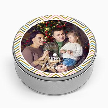 Blechdose mit Foto Adventszeit