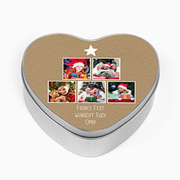 Blechdose mit Foto - Family Love - 0