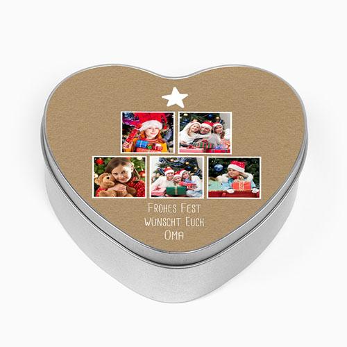 Blechdose mit Foto - Family Love 51308 test