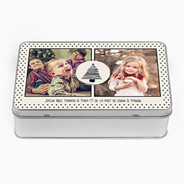 Boite métallique Geschenke Fotodose