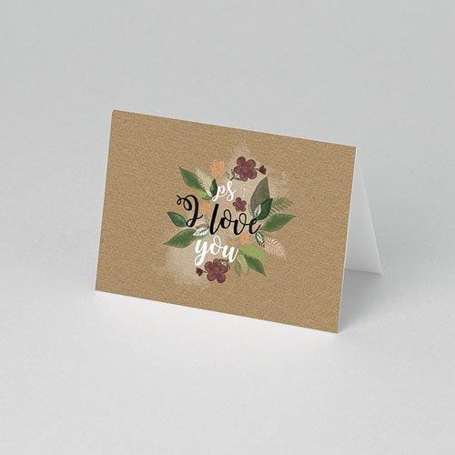 Tischkarten Hochzeit - Flower Vintage 51443 preview