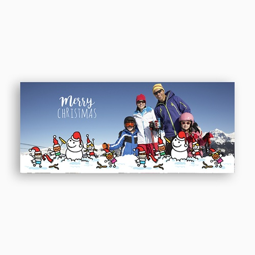 Personalisierte Fototassen Weihnachtszauber pas cher