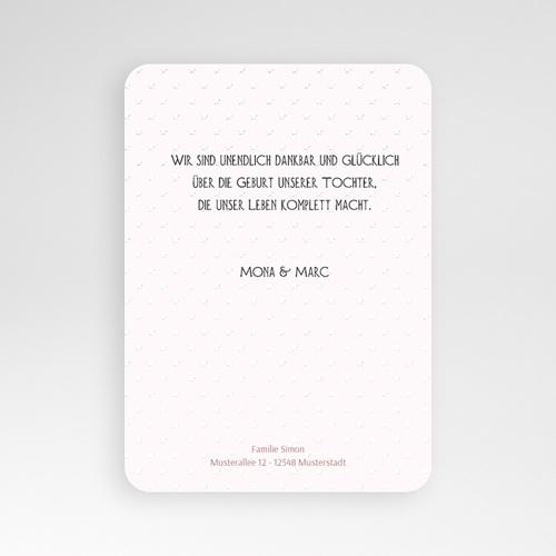 Geburtskarten für Mädchen - Weich 51477 test