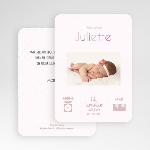 Geburtskarten für Mädchen - Weich 51478 preview