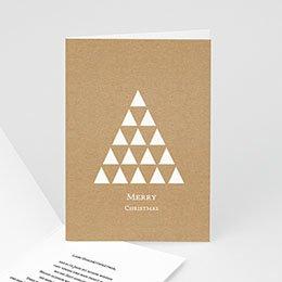 Weihnachtskarten - Dreieck - 0