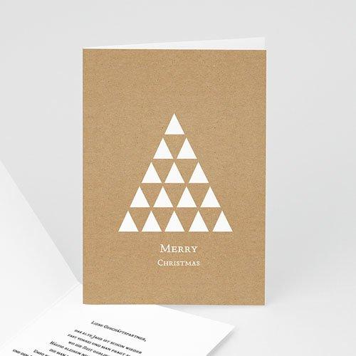 Weihnachtskarten - Dreieck 51584
