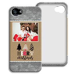 Case iPhone 5/5S - Weihnachtsbotschaft - 0